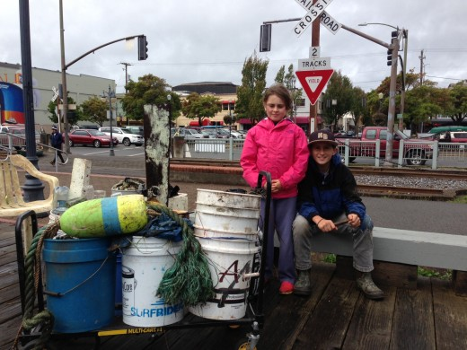 Bay Cleanup volunteer winners!
